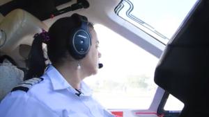 La mujer que no quería volar y terminó atravesando las nubes